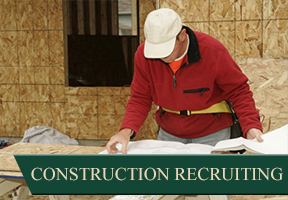 Worker Checking Paperwork - Construction Recruiting Company